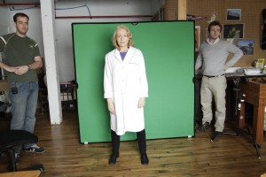 Actress Rosemary Dunsmore, Green Screen Shooting | Guidestones Web Series