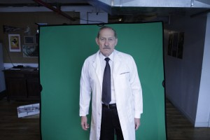 Actor David Fox, Green Screen Shooting | Guidestones Web Series