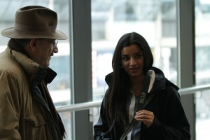 Supinder Wraich, Hrant Alianak at Ryerson University Toronto, Production Stills | Guidestones Web Series