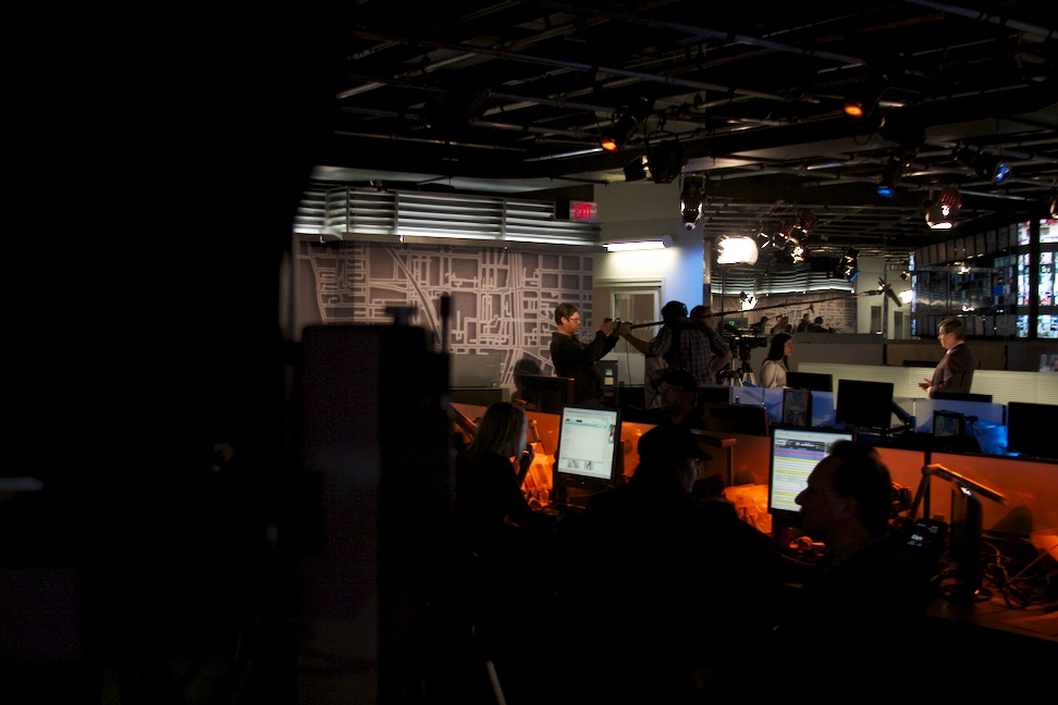 PHOTOS: In the Newsroom with Gord Martineau - Guidestones