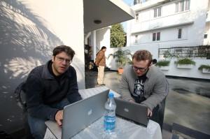 Director Jay Ferguson in India | Guidestones Web Series