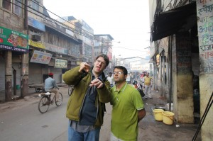 Director Jay Ferguson, Shooting in India | Guidestones Web Series