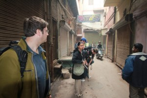 Jay Ferguson, Supinder Wraich, Dan Fox, Shooting in India | Guidestones Web Series