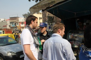 Dan Fox, Shooting in India | Guidestones Web Series